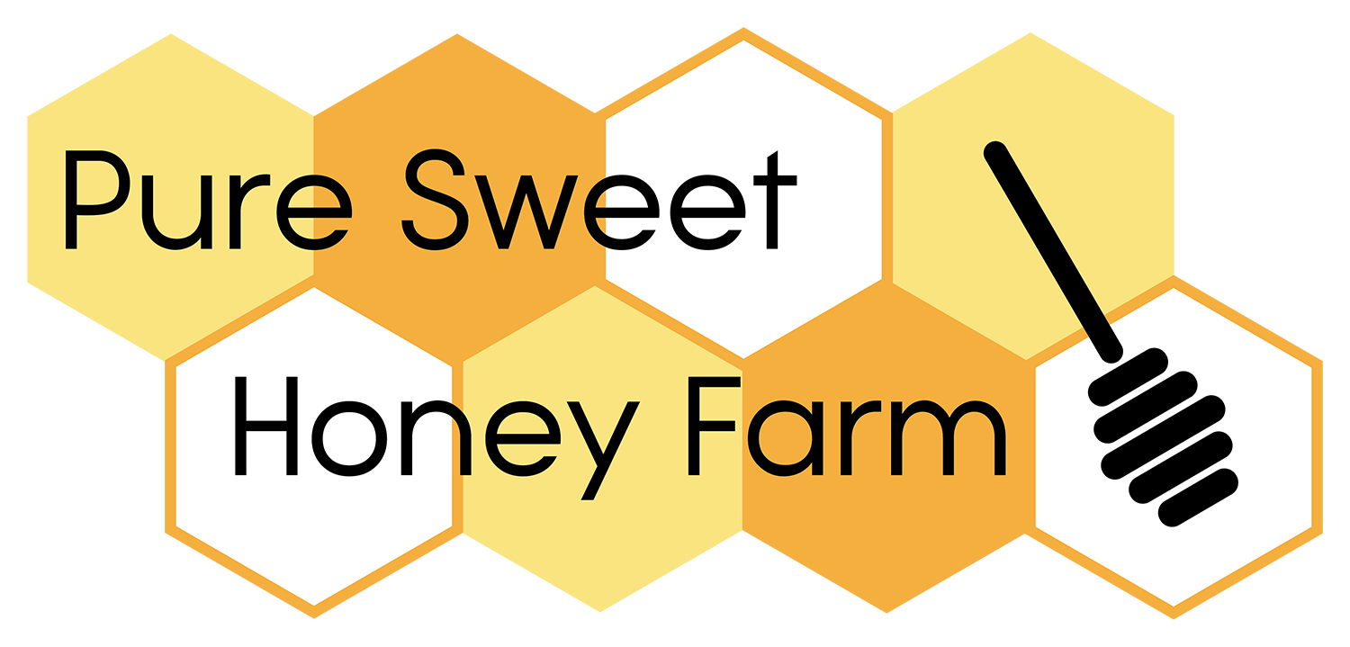 Pure Sweet Honey Farm Logo